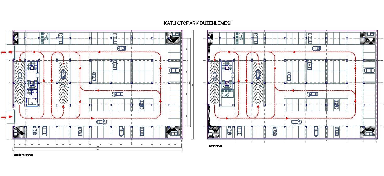 Dwg Adı  Katlı otopark planları İndirme Linki     wwwdwgindir - new aia final completion