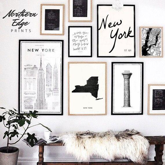 Colorado Map, Printable Art, United States Print, Printable US, Loft Style Wall Collage, Wedding gif #wallcollage