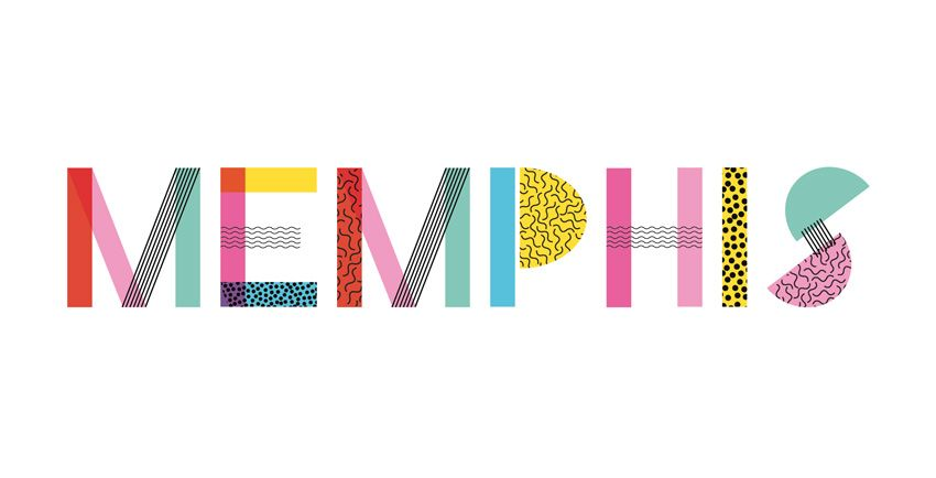 Quick Tip How To Create A Memphis Style Text Effect In Adobe Indesign Design Psdtuts Indesign Memphis Design Text Design
