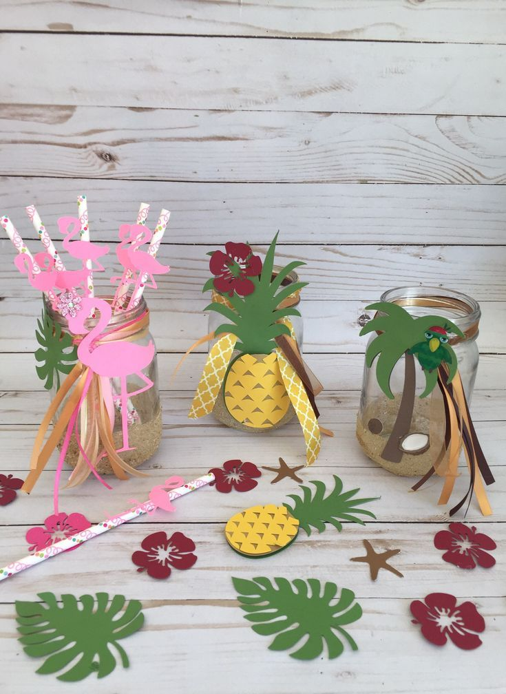 Luau centerpiece, beach party, luau decoration , hula birthday, hula girl, luau #tropicalbirthdayparty