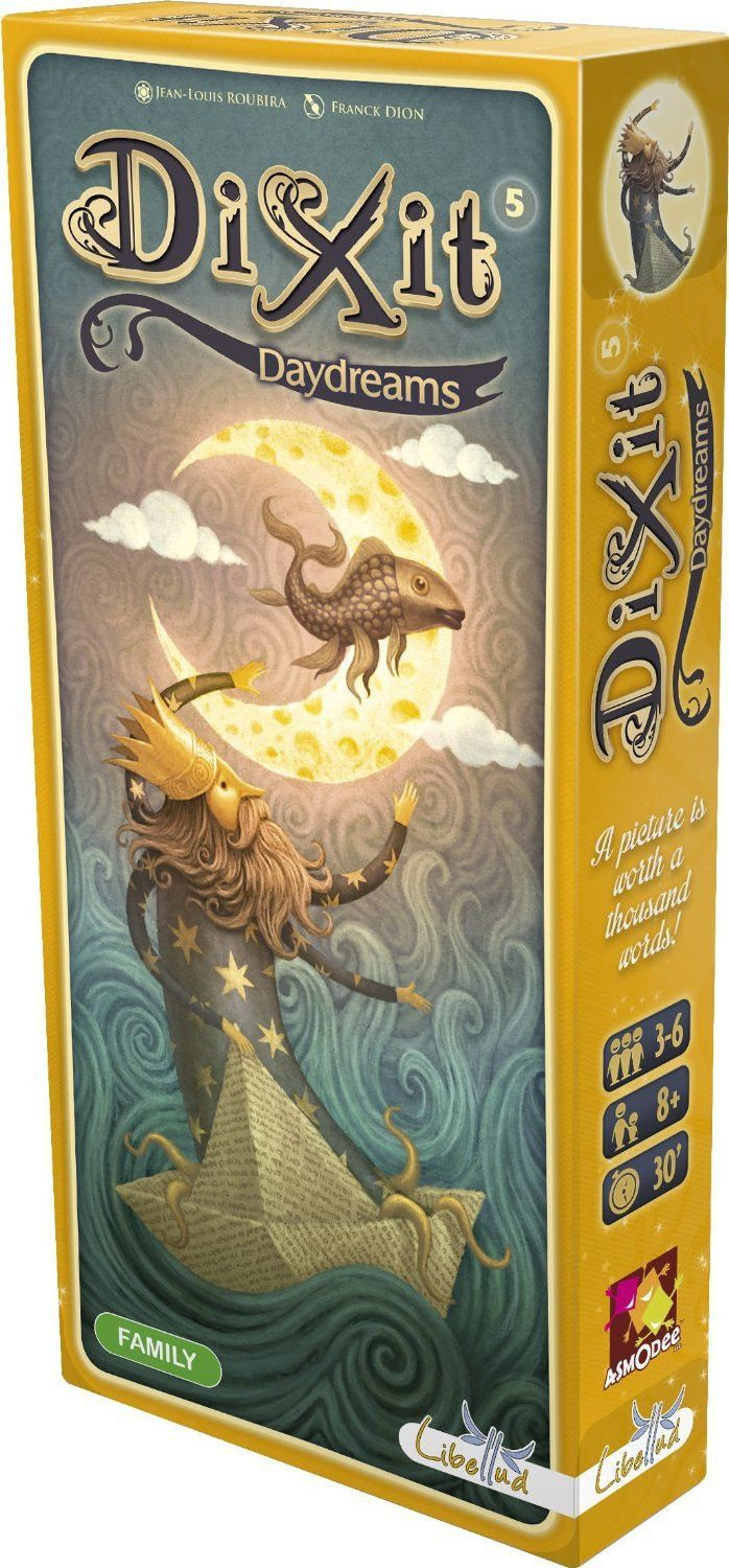 dixit daydreams  family friendly games playing card