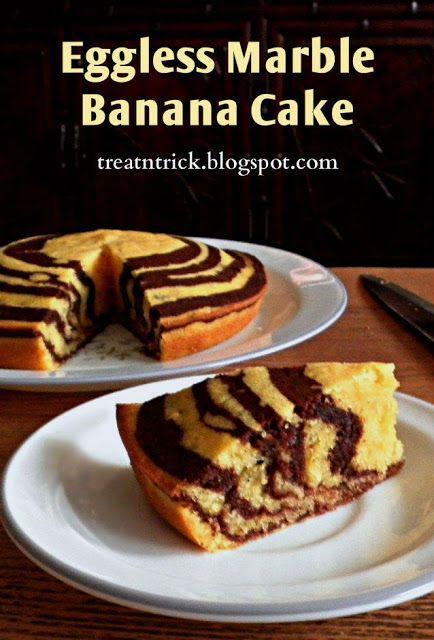 Eggless marble banana cake recipe treatntrickspot this is eggless marble banana cake recipe treatntrickspot this is an easy recipe forumfinder Choice Image