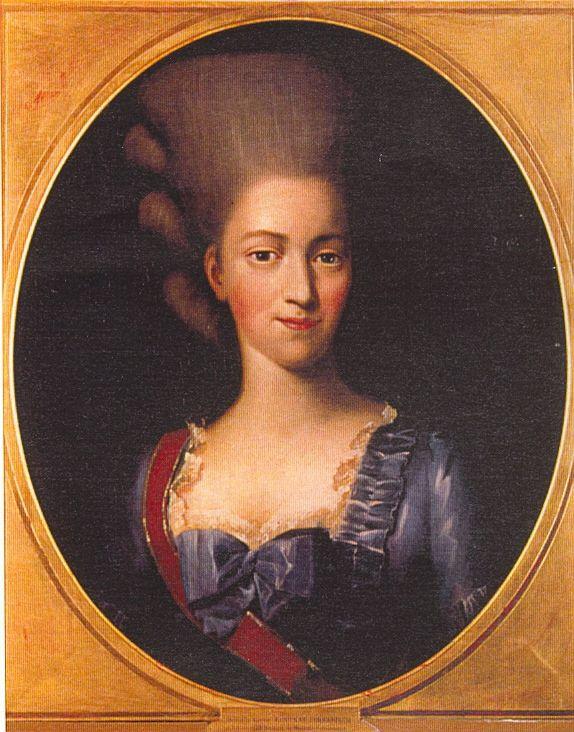 Baronne Henriette Louise de Waldner von Freundstein, Baronne d'Oberkirch (1754-1803).