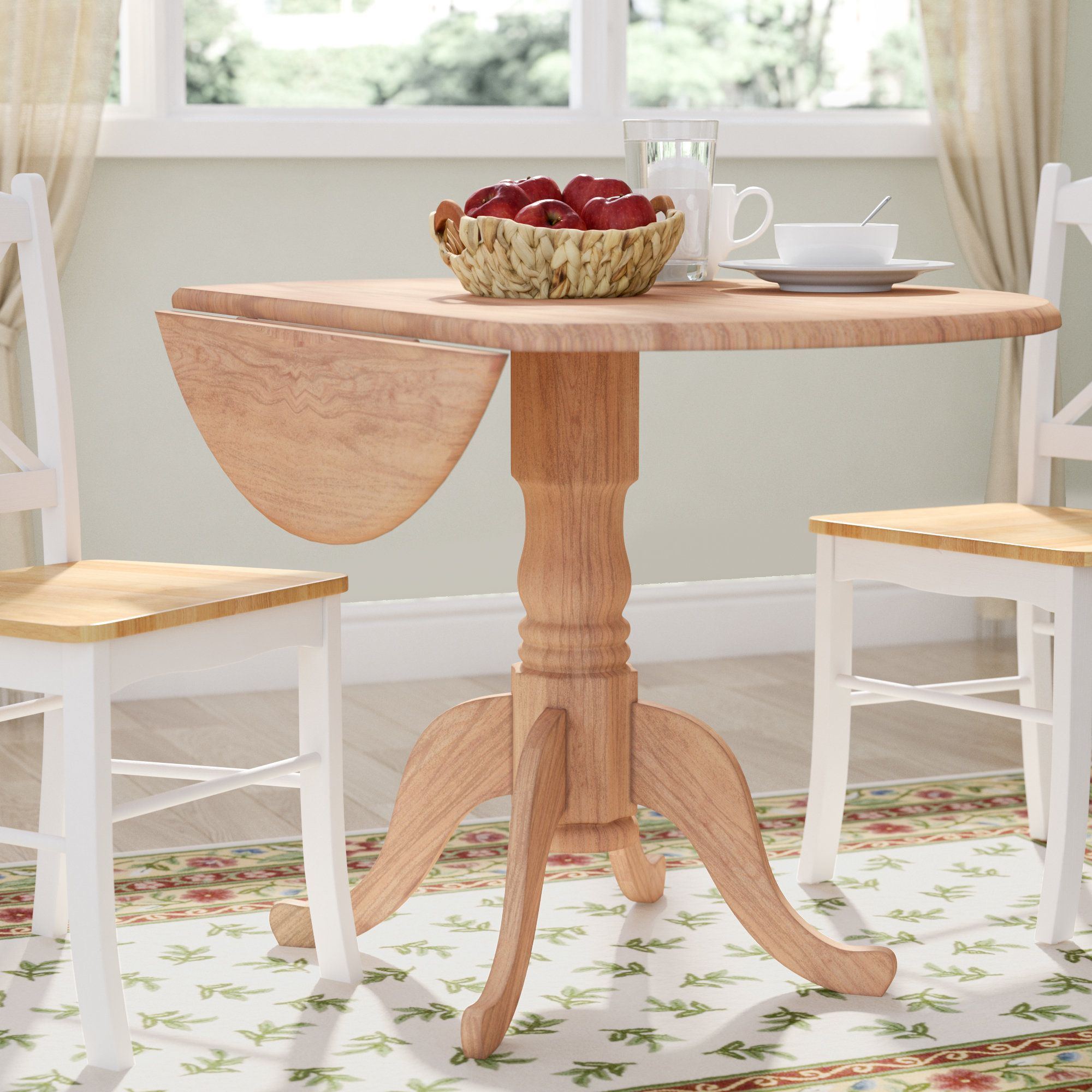 Upton Extendable Dining Table Dining Table Round Dining Room