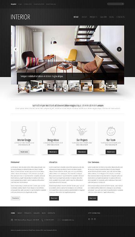 Interior Design Wordpress Theme Best Interior Design Websites