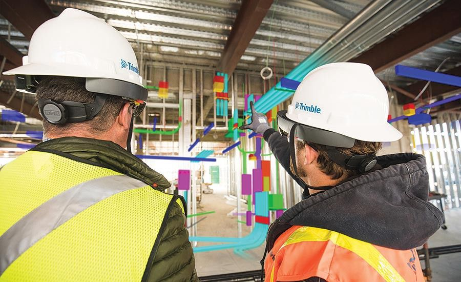 Augmented Reality In Building Construction In 2020 Building Information Modeling Augmented Reality Augmented Reality Technology