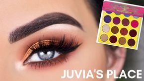 Photo of Juvia's Place The Masquerade Mini Eyeshadow Palette | Summer Bronze Eye Makeup Tutorial