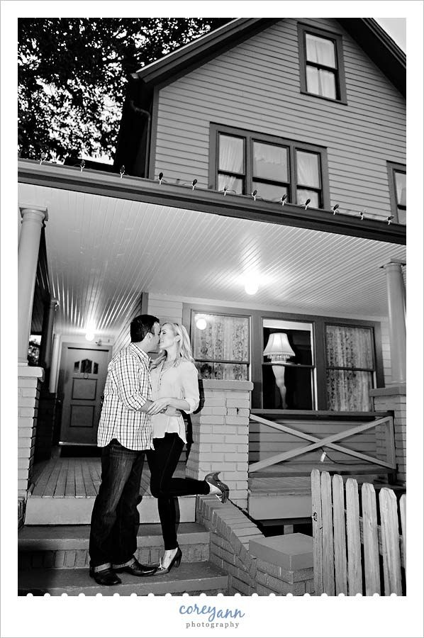 Christmas Story Location.Engagement Session At A Christmas Story House 3159 W 11th