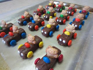 Treats By Christi: Teddy Bear Cars