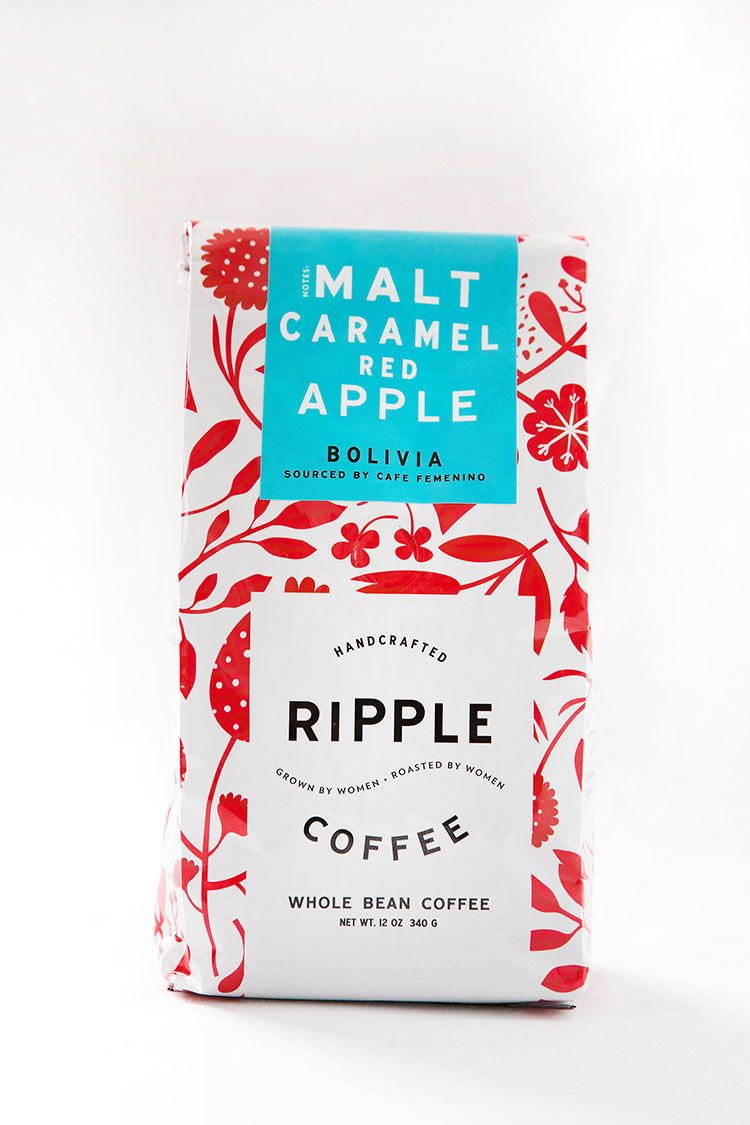 Ripple Coffee Package Design by http://designwomb.com #packagedesign