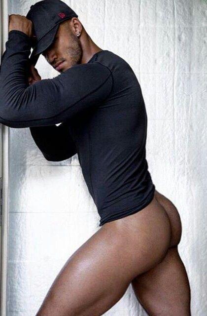 Sexy fat guys ass