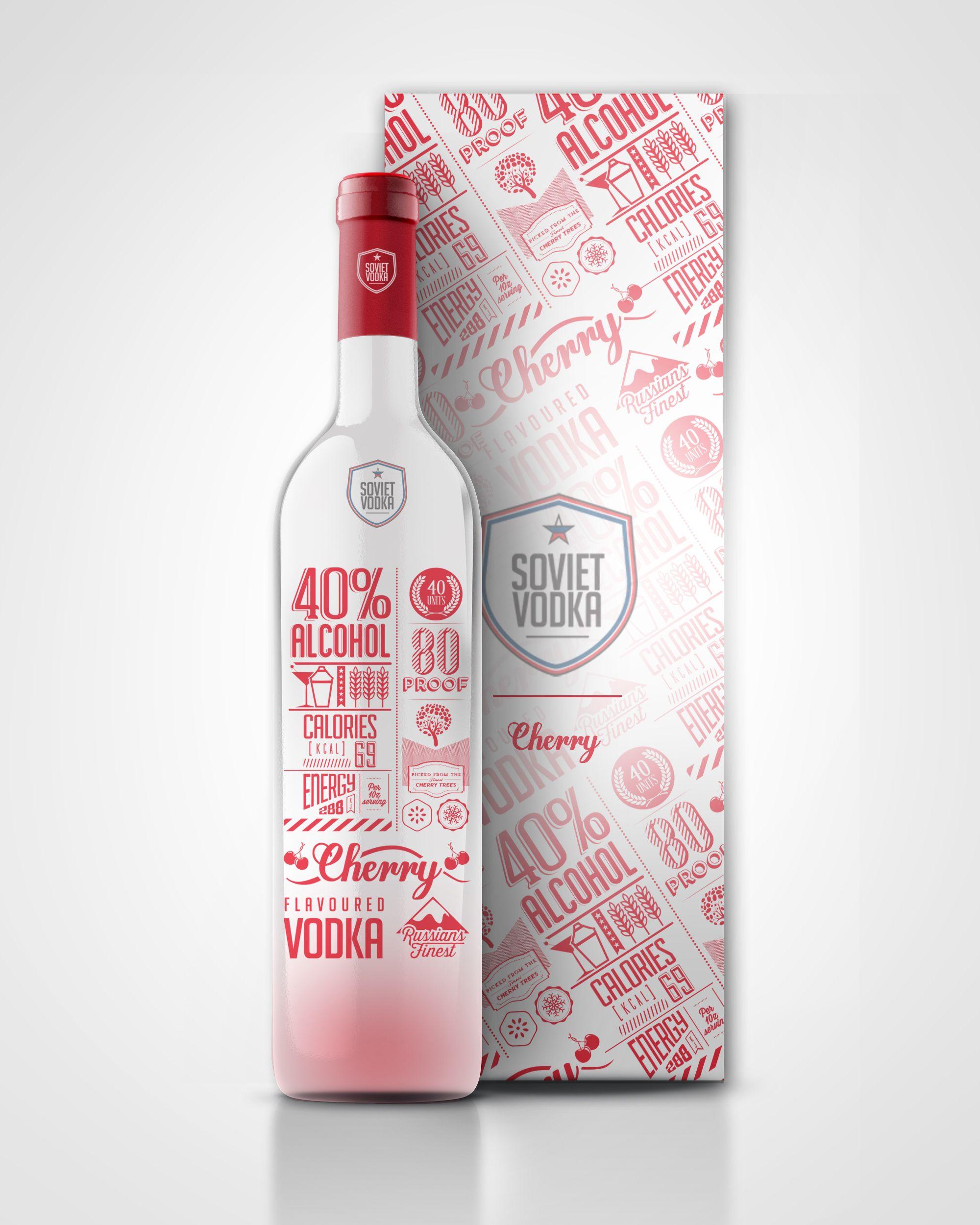 kirsebær vodka