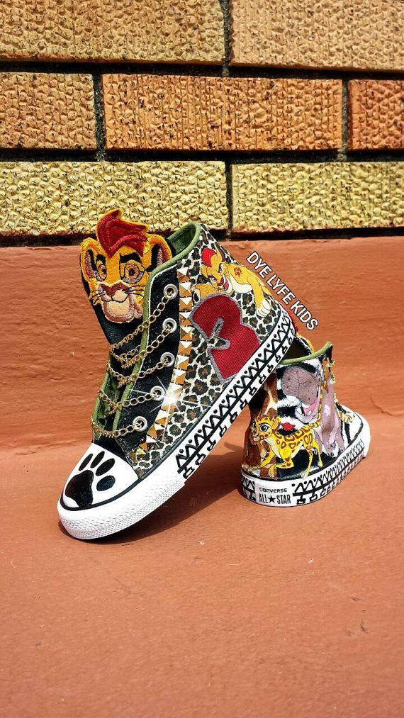 lion guard chucks converse shoes | Lion Guard Kion Birthday
