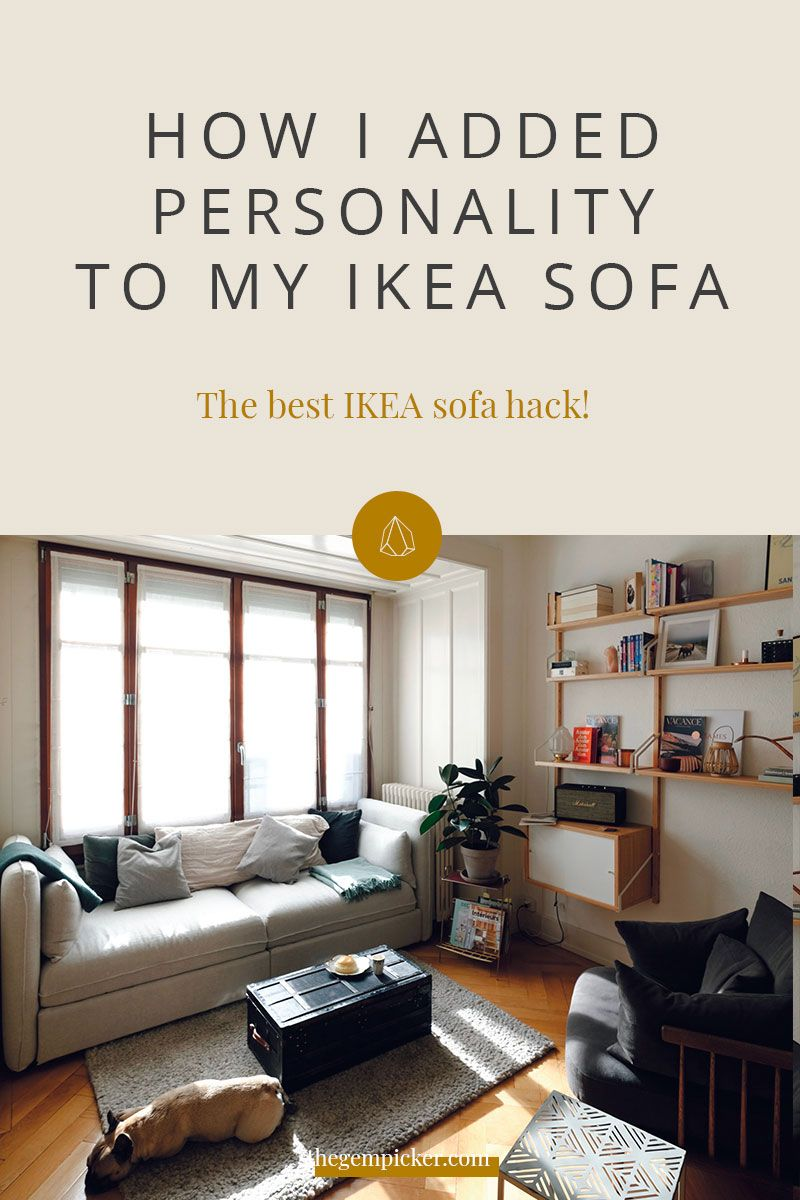 The Best Ikea Sofa Hack For Instant Flair And Personality Ikea