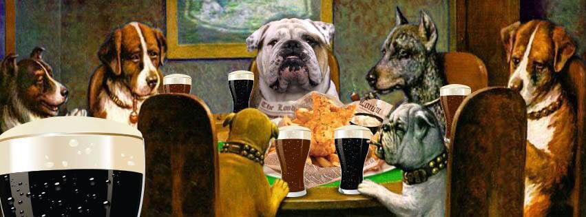 Canine & Cocktails takes place every Sunday night starting at 5pm