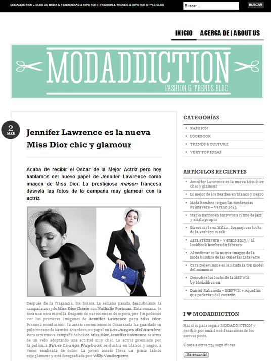 Tema BUENO ideal para Blog de Moda | Plantillas WordPress ...