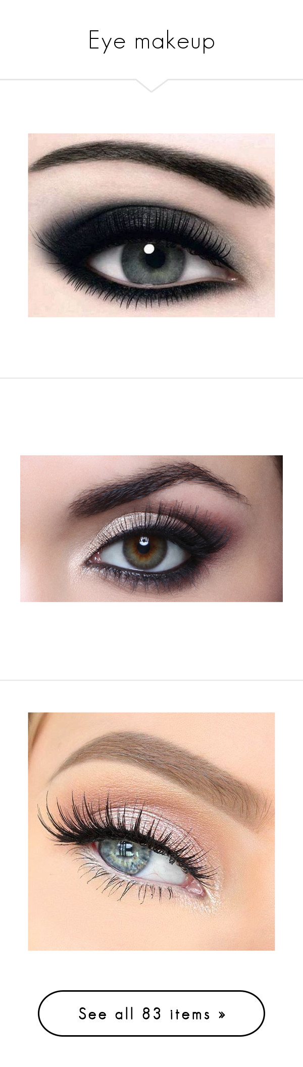 Eye Makeup By Maddie Wolf 97 Liked On Polyvore Featuring Beauty