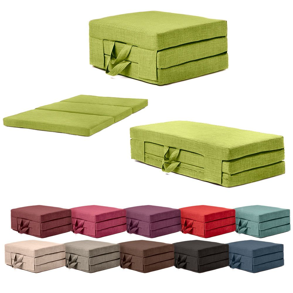 Fold Out Guest Mattress Foam Bed Single Double Sizes Futon Z Folding Sofa Home Furniture Diy Sofas Armchairs Suites Ebay