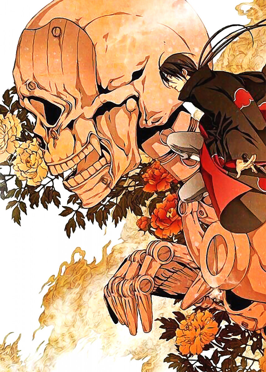 'Naruto 220' Metal Poster Print chinu daiichi Displate