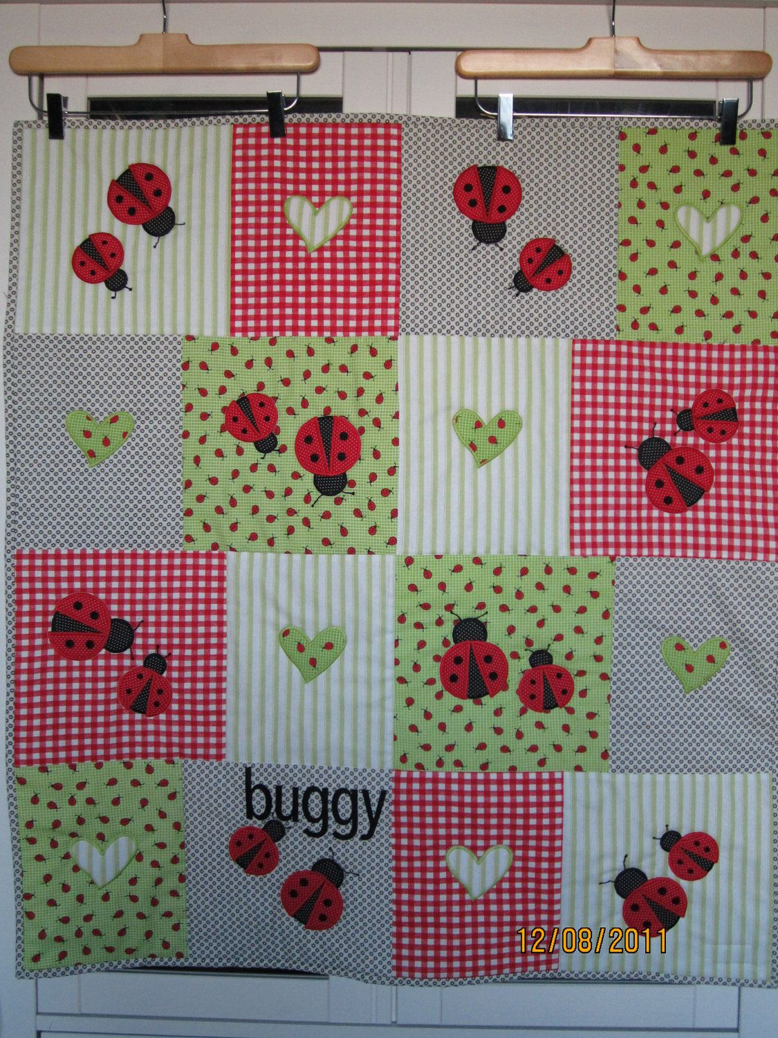 Ladybug Quilt Baby Quilts Cute Quilts Animal Quilts