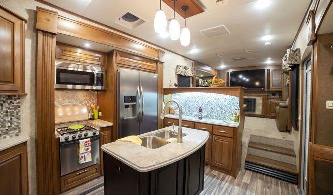 Front Living Room 5Th Wheel Open Range 3X 377Flr Fifth Wheel For New Fifth Wheel Campers With Front Living Rooms Design Inspiration