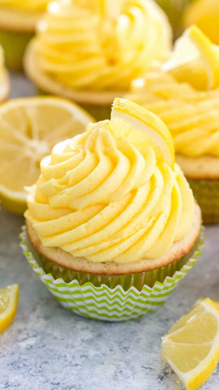 Homemade Lemon Cupcakes are soft and tender, topped with a sweet and creamy Lemon Buttercream frosting. Unbelievably cute and bursting with lemon flavor. #lemon #cupcakes #lemoncupcakes #lemondesserts #sweetandsavorymeals #lemonbuttercream Homemade Lemon Cupcakes are soft and tender, topped with a sweet and creamy Lemon Buttercream frosting. Unbelievably cute and bursting with lemon flavor. #lemon #cupcakes #lemoncupcakes #lemondesserts #sweetandsavorymeals #lemonbuttercream