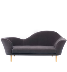 Grand Piano Sofa Chaise Lounge By Gubi Traditional Sofa