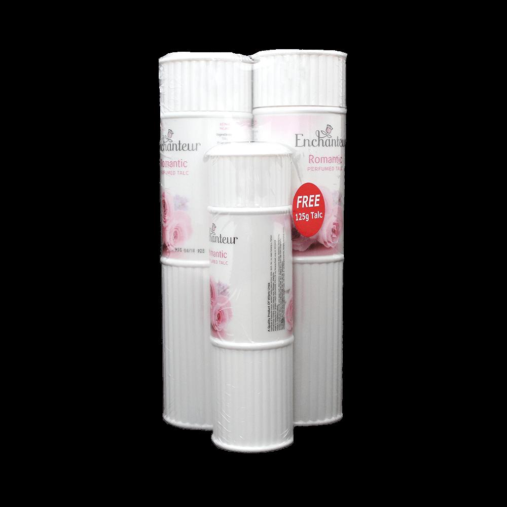Enchanteur Romantic Perfumed Talc Powder Bundle - Buy 2 Get 1 Free (2
