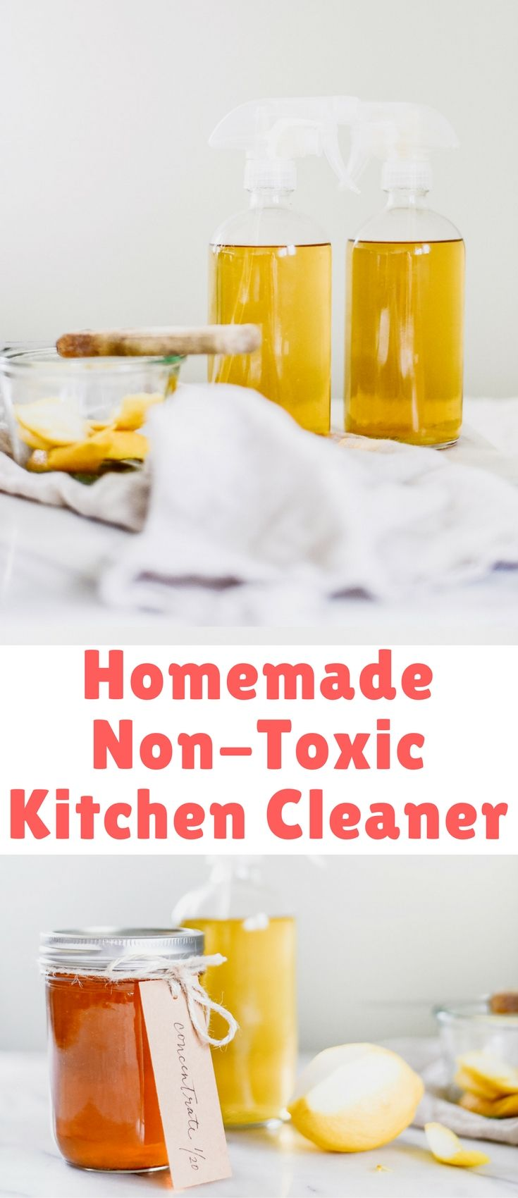 If you have oranges & vinegar, you can make this non-toxic homemade ...