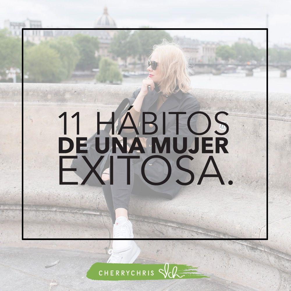 11 hábitos de una mujer exitosa
