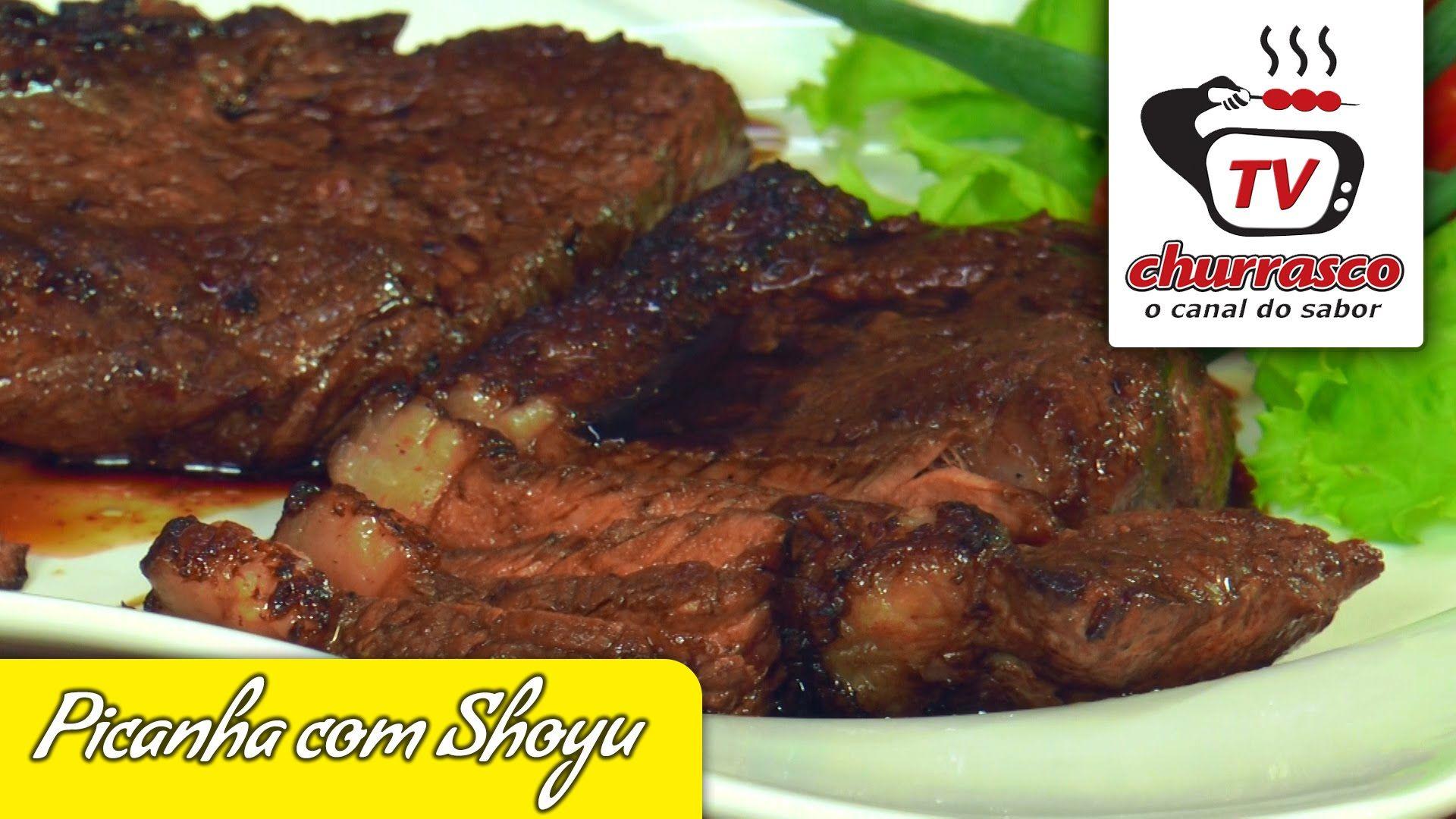 Receita de Picanha com Shoyu - Tv Churrasco - Especial Sorteio ... 119513cad5c