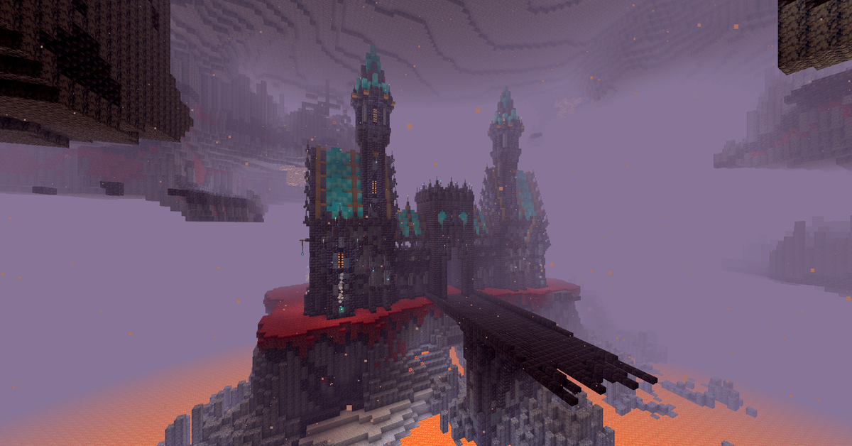 Wip Blackstone Fortress Idea What Do You Think D Minecraft In 2020 Minecraft Plans Minecraft Building Blueprints Minecraft Houses