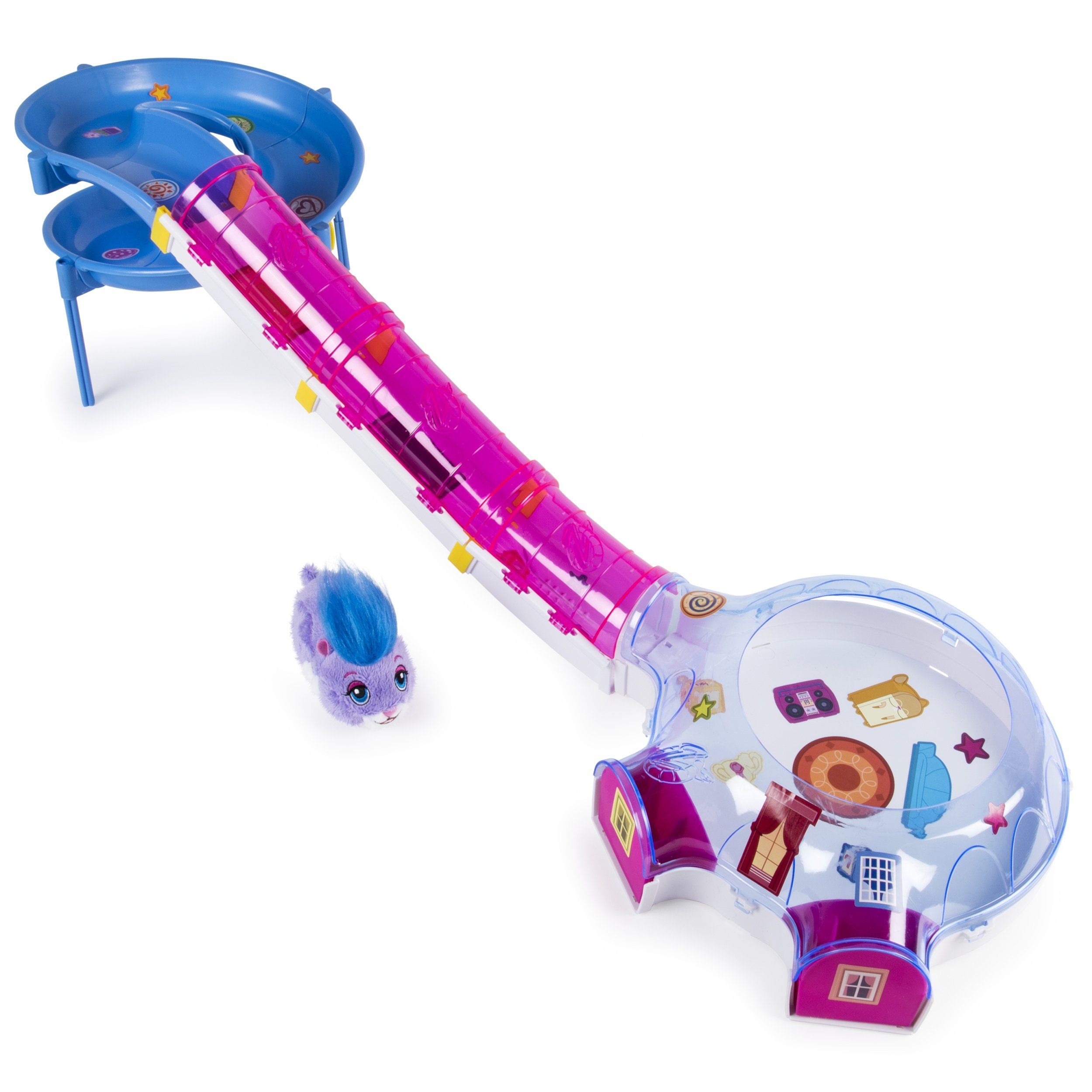 Zhu Zhu Pets Hamster House Play Set With Slide And Tunnel You Could Get Additional Information At The Picture Link Thi Hamster House Hamster Hamster Toys