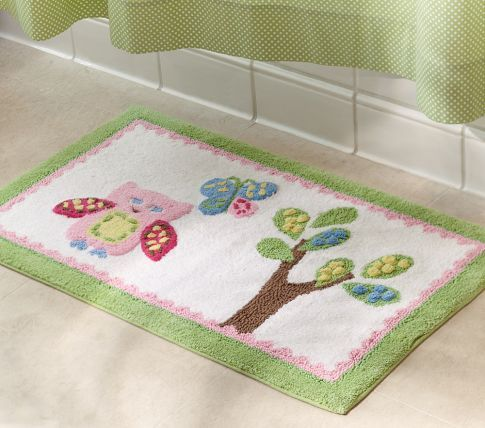 Bathmat for our little girls room.  Love the colors & SO super soft.