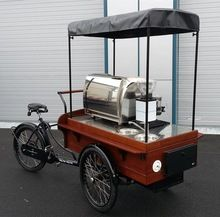 Mobile Drink Bicycles Coffee Cart Bike For Sale