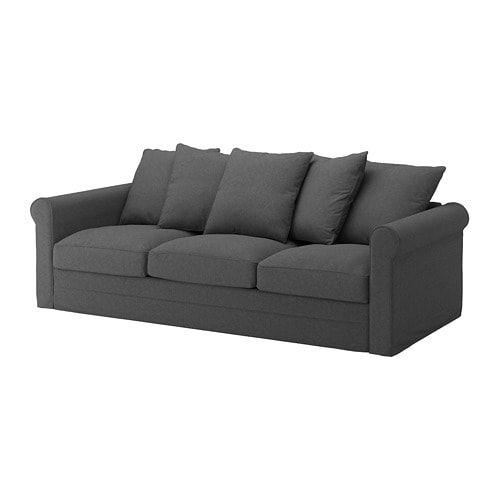 GRÖNLID Tallmyra medium grey, 3-seat sofa - IKEA   Ikea ...