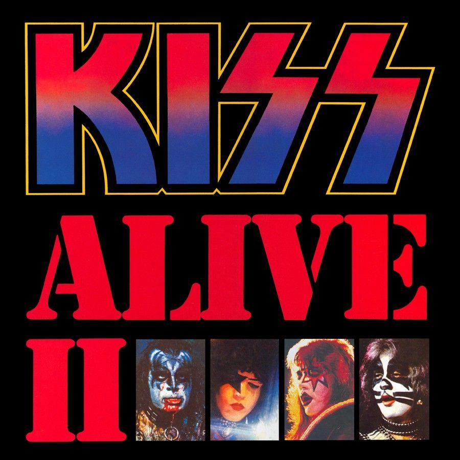 Alive Ii Kiss Album Covers Rock Album Covers Detroit Rock City