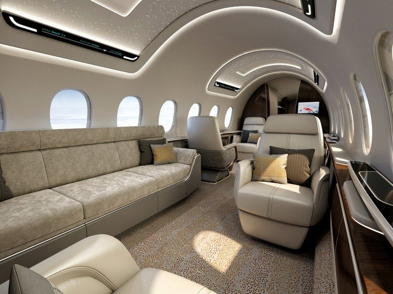 The World S First Supersonic Private Jet Is Being Built Private Jet Interior Airplane Interior Private Jet