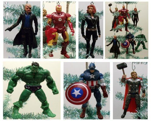 AVENGERS Christmas Ornaments - AVENGERS Christmas Ornaments Beauty Pinterest Christmas