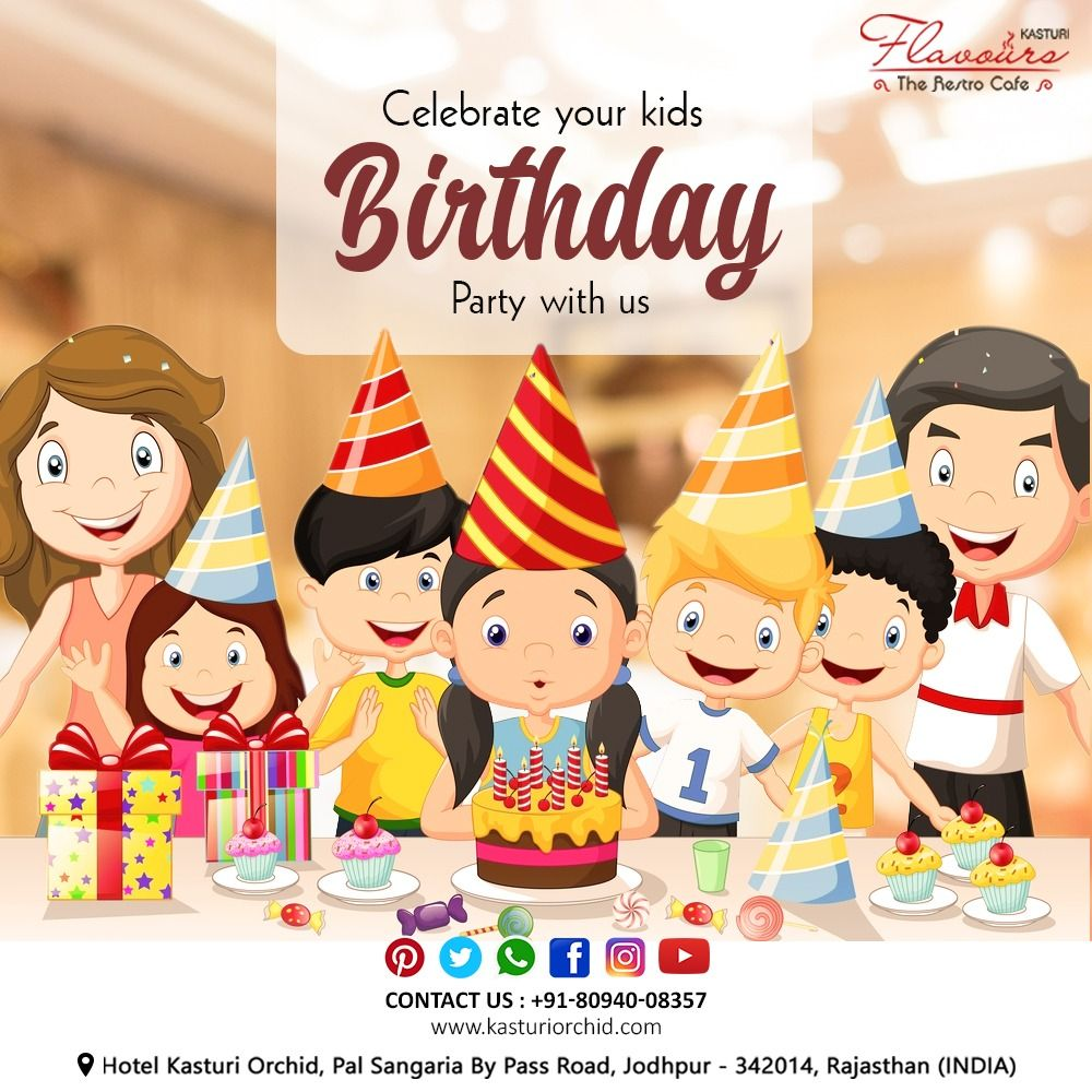 Birthday Celebrations are the best part of life . We know you have much more reasons to celebrate , we have all what your kids gonnna love♥  Book your parties with us & make it a talk of the town . Call now - 8094008357 Visit -