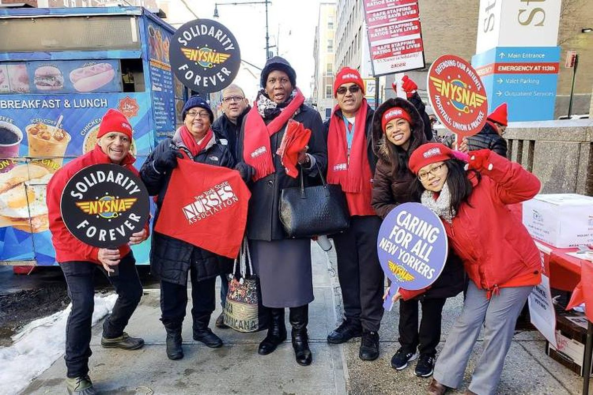 This Is Why 12,000 NYC Nurses Will Strike In April 2019