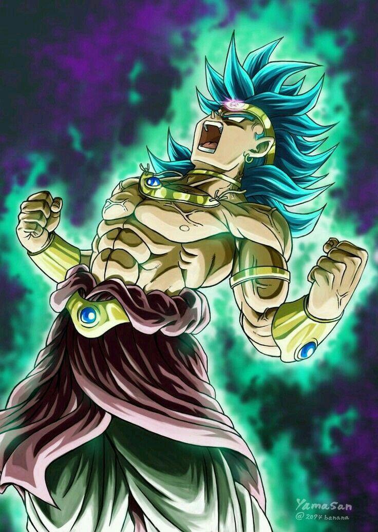 Super Saiyan Broly Anime, Anime negra