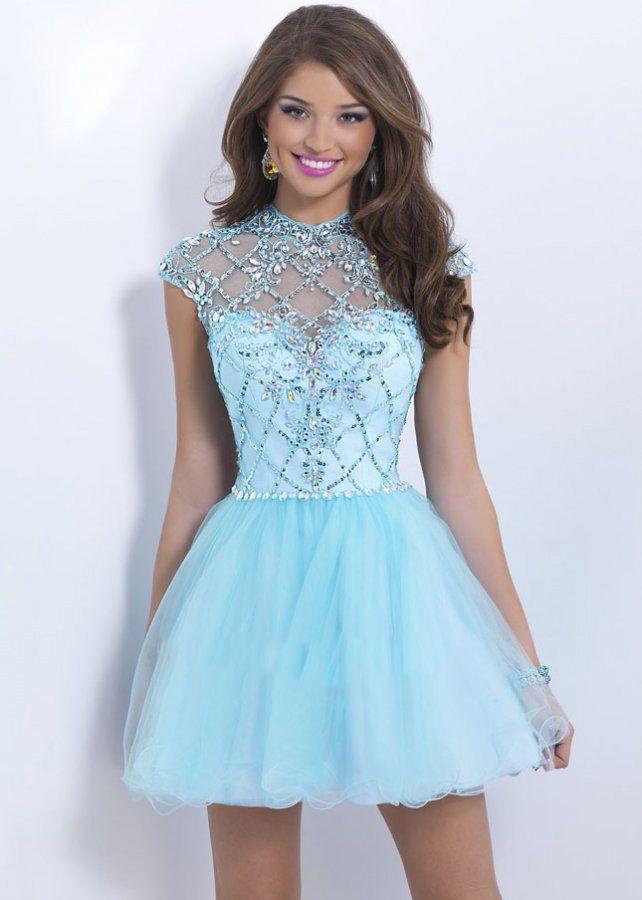 promerz.com short blue prom dresses (12) #promdresses | Dresses ...