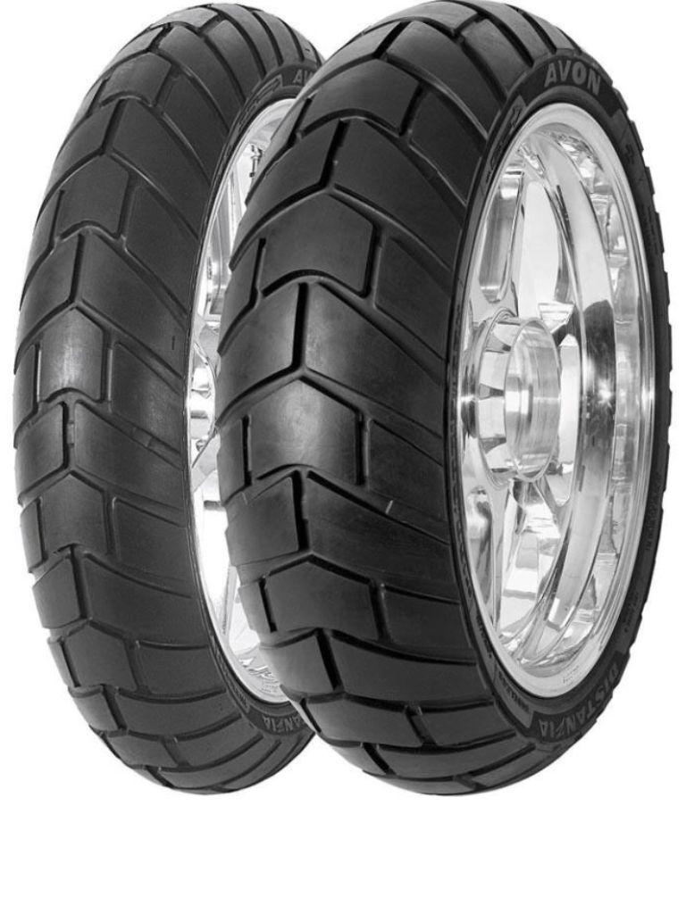 Avon Distanzia dual sports motorcycle tyres. Worth a try.   Enduro dual sport motorcycle tyres ...
