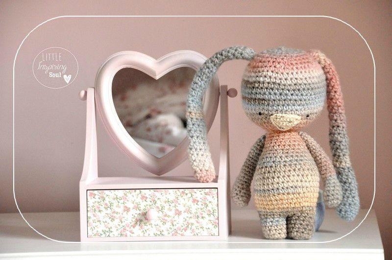 free crochet bunny pattern   Crochet   Pinterest   Conejo, Patrones ...