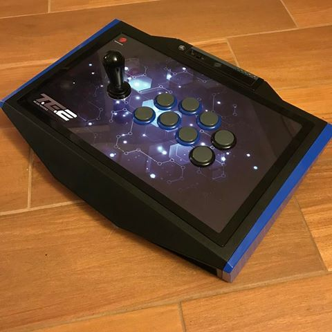 My stick is finally finished! Madcatz TE2 ed with a Korean ... on