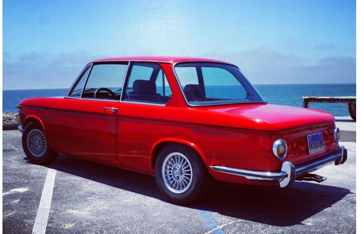 BMW 2002 Red