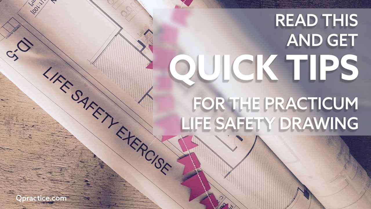 The Lowdown on the NCIDQ Life Safety Drawing https://www.qpractice.com/get-lowdown-life-safety-drawing/?utm_campaign=coschedule&utm_source=pinterest&utm_medium=Qpractice&utm_content=The%20Lowdown%20on%20the%20NCIDQ%20Life%20Safety%20Drawing