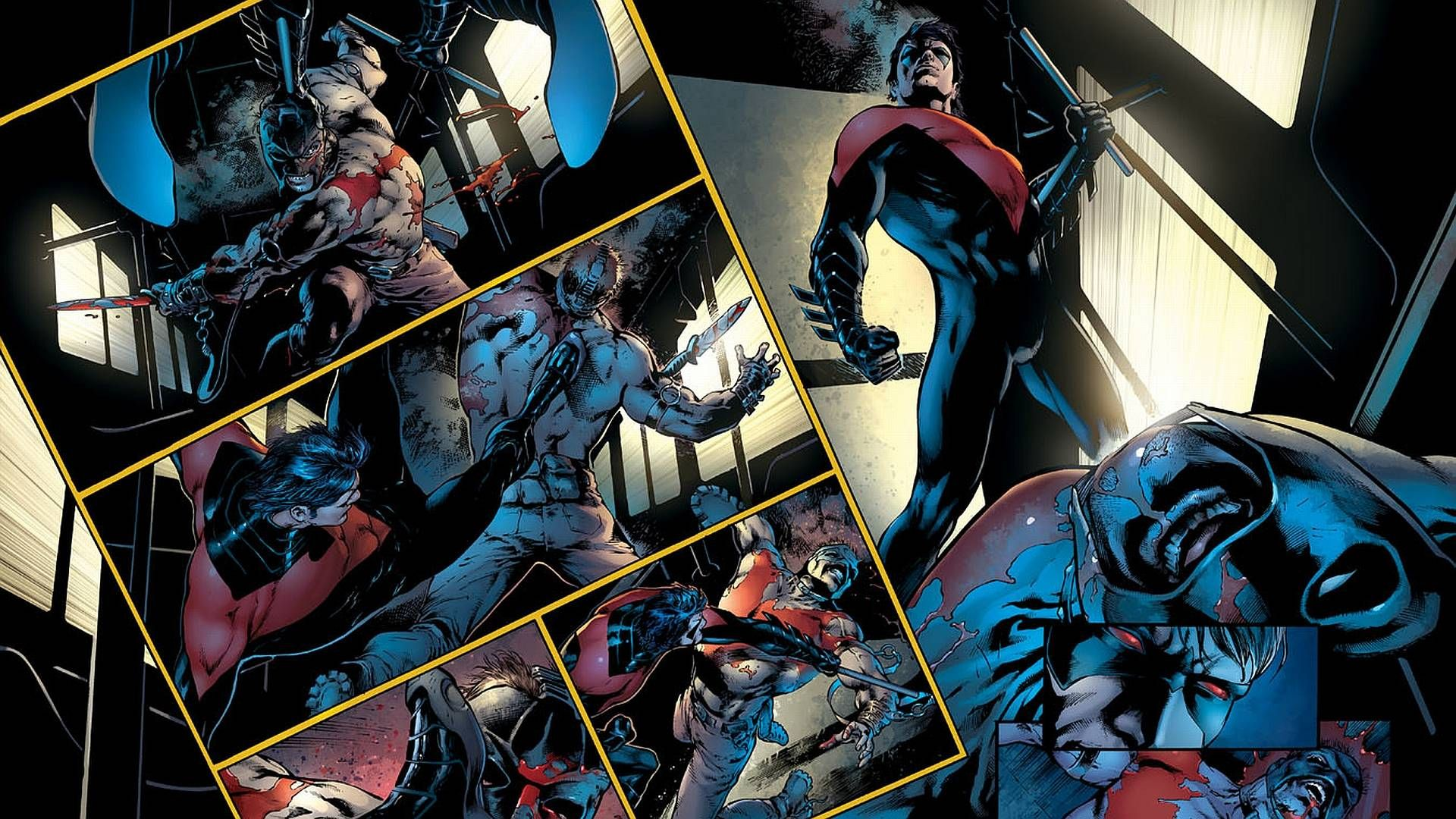 Nightwing New 52 Backgrounds For Desktop Wallpaper 1920x1080