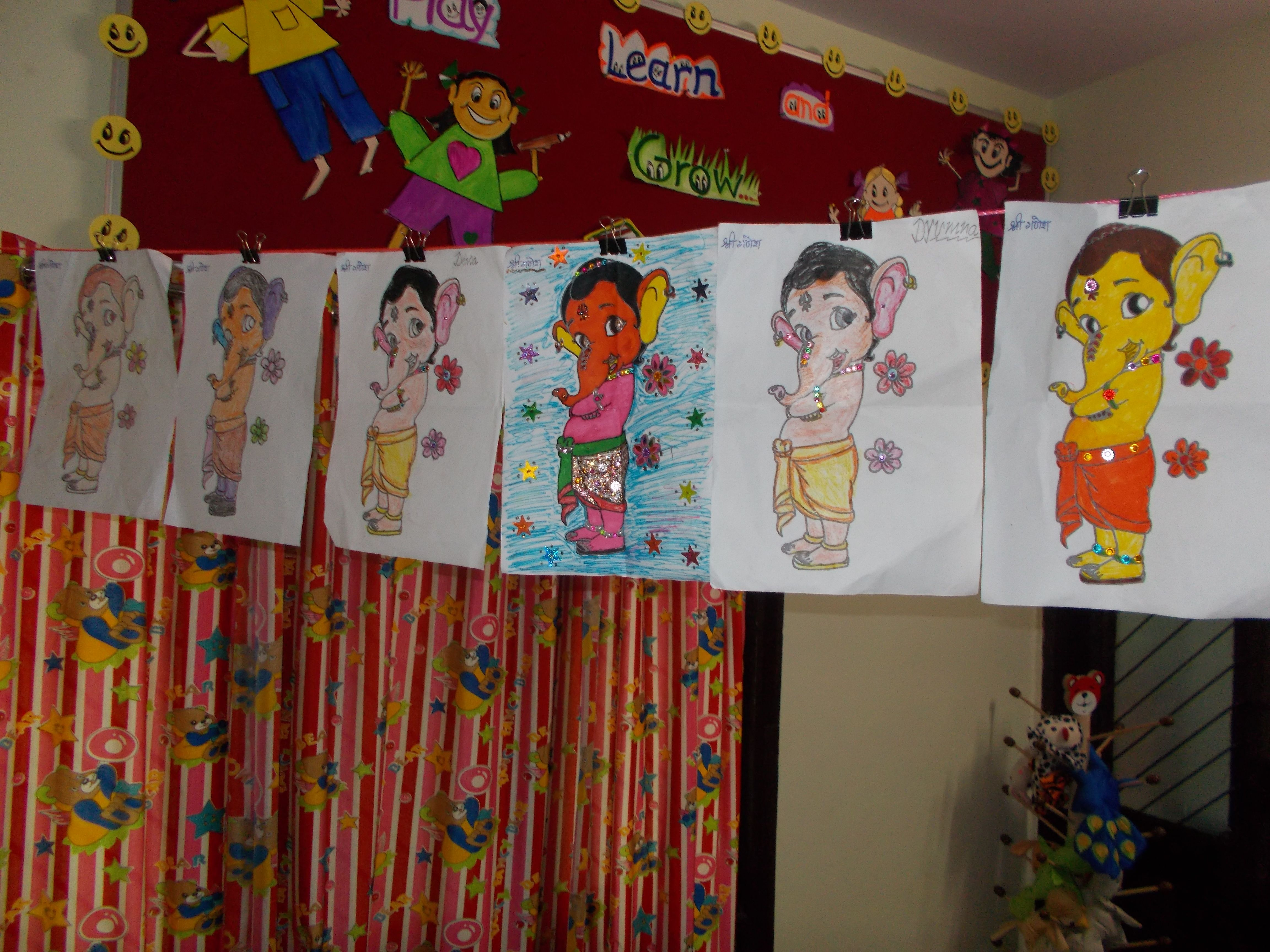 Bal Ganesh Worksheets With Images